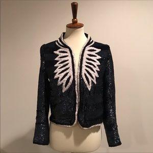 Zadig & Voltaire Jackets & Coats - Zadig & Voltaire sequin jacket